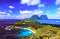SC133 Mt Lidgbird and Mt Gower, Lord Howe Island