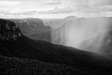 BKW118 Storm, Govetts Leap, Blue Mountains National Park NSW