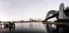 SH124 Dawn, City of Sydney with Opera House & Harbour Bridge