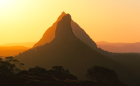 LS123 Sunset, The Glass House Mountains National Park, Queensland
