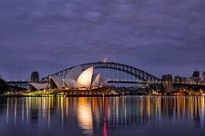 SH106  Sydney Opera House & Harbour Bridge