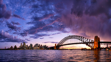SH120 Sunset, Sydney Opera House & Harbour Bridge