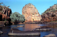 OB134 Smiths Rock, Nitmiluk National Park, (Katherine Gorge), N.T.