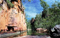 OB141 Umbrawarra Gorge Nature Reserve, Northern Territory